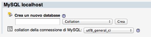 wordpress in locale su mac